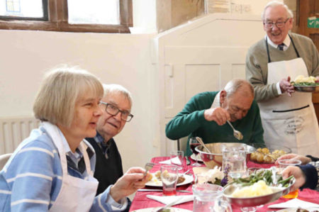 St Mary's Priory Lunch club