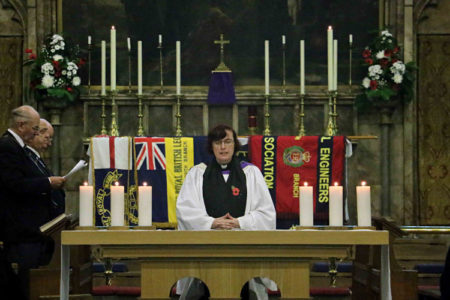 Remembrance service at St Marys