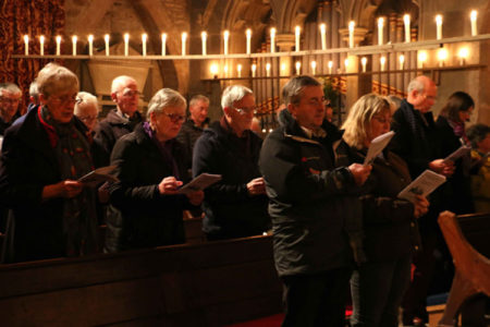 Candlelit festival at St Michael's
