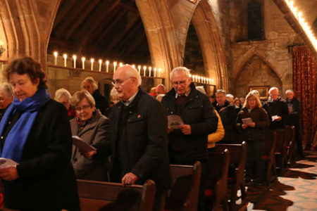 Candlelit carols at St Michael's