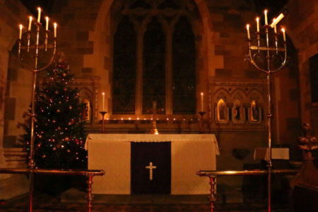 St Michael's at Christmas