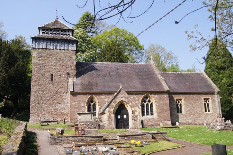 St Cenedlon's Chruch, Rockfield, Monmouth