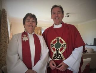 The Reverend Timothy and the Reverend Karen Dack