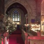 Dingestow Church at Christmas
