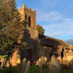 Dingestow church graveyard