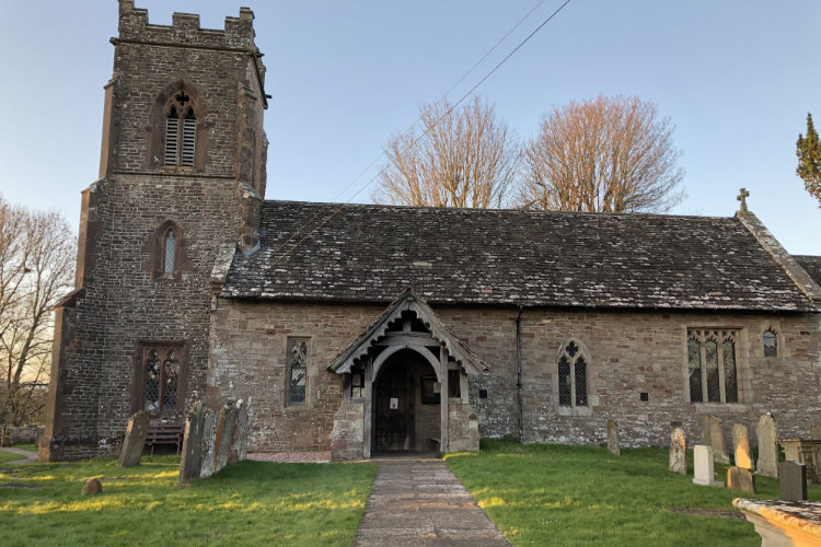 Dingestow Church outside