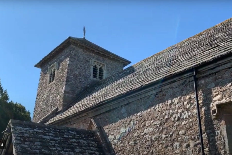 St Marys Church Tregaer near Monmouth