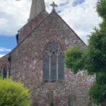 St Nicholas Church Trellech outside