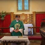 chancel at St Marys Tregaer