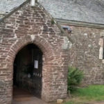 St Maughans church porch